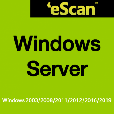 eScan for Windows Server