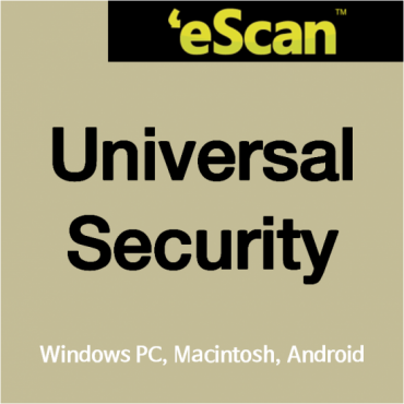 eScan USS(Windows PC, Macintosh) - 2유저 이상 필수
